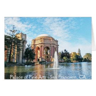 Palace of Fine Arts - San Francisco Card