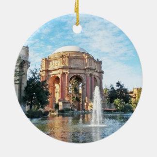 Palace of Fine Arts - San Francisco Ceramic Ornament