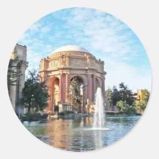 Palace of Fine Arts - San Francisco Classic Round Sticker