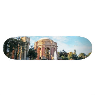 Palace of Fine Arts - San Francisco Custom Skateboard