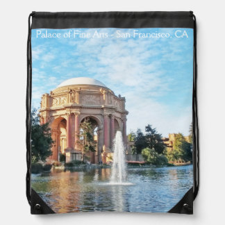 Palace of Fine Arts - San Francisco Drawstring Bag