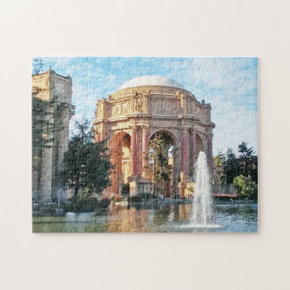 Palace of Fine Arts - San Francisco Jigsaw Puzzle