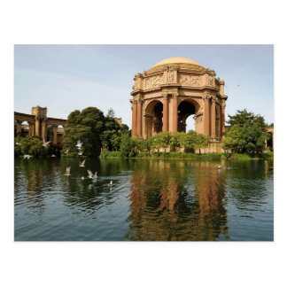 Palace of Fine Arts, San Francisco Postcard