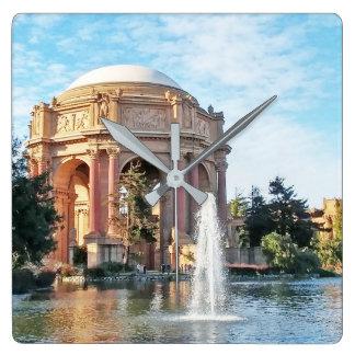 Palace of Fine Arts - San Francisco Square Wall Clock