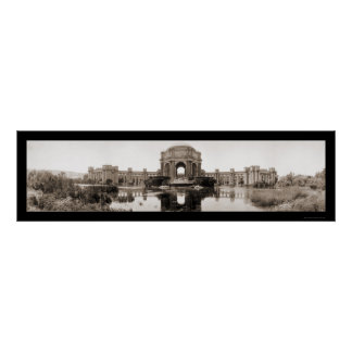 Palace of Fine Arts SF Photo 1919 Poster