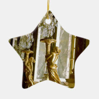 Palace of versailles Hall of mirrors Golden statue Ceramic Ornament