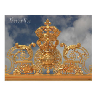 Palace of Versailles Postcard