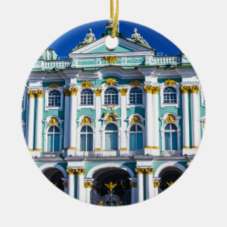 Palace Square St Petersburg Russia Ceramic Ornament