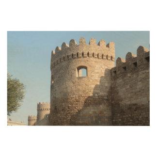 Palace Tower Wall, Azerbaijan Wood Wall Art