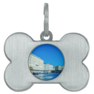 Palaces Neva River Pet Name Tag