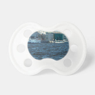 palaces on neva river St Petersburg Russia Pacifier