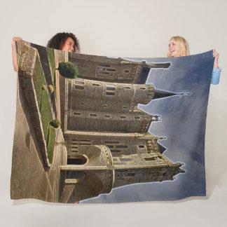 Palacio Episcopal, Astorgra, Spain Acrylic Art Fleece Blanket