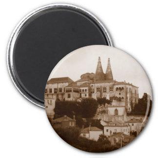 Palacio National - Sintra 2 Inch Round Magnet