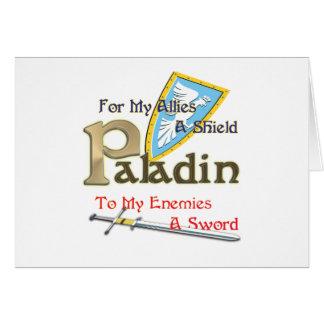 Paladin Card
