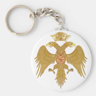 Palaiologos Eagle Keychain