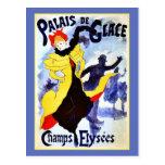 Palais de Glace Champs Elysées Postcard