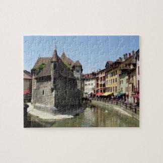 Palais de l'Isle in Picturesque Annecy, France Puzzle
