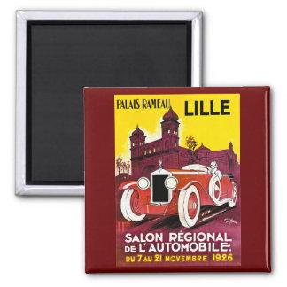 Palais Rameau - Lille - Automobile Ad - 1926 Magnet