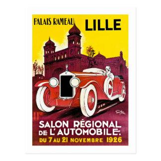 Palais Rameau - Lille - Automobile Ad - 1926 Postcard