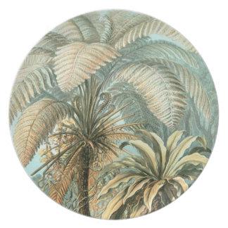 Palatial Palms Plates