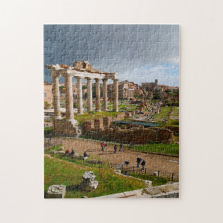 Palatine Hill Rome Italy. Jigsaw Puzzle