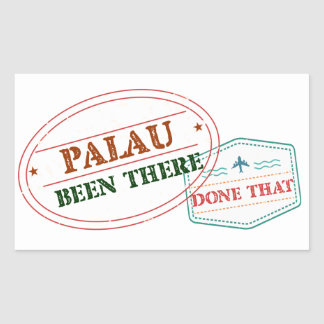 Palau Been There Done That Sticker