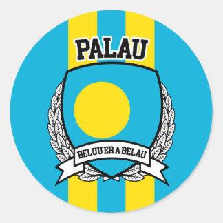 Palau Classic Round Sticker