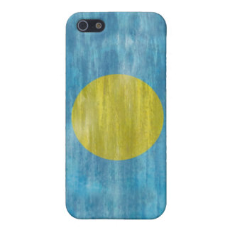 Palau distressed flag iPhone 5/5S cases