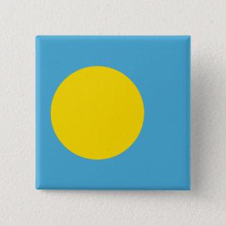 Palau Flag 2 Inch Square Button