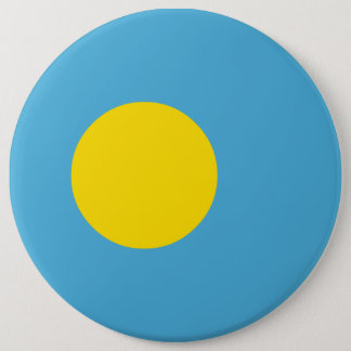 Palau Flag 6 Inch Round Button