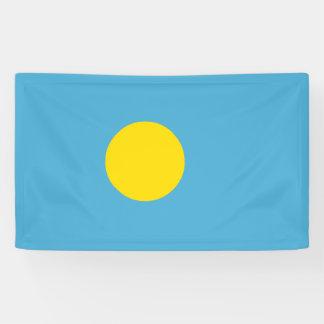 Palau Flag Banner