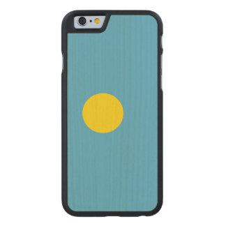 Palau Flag Carved Maple iPhone 6 Case