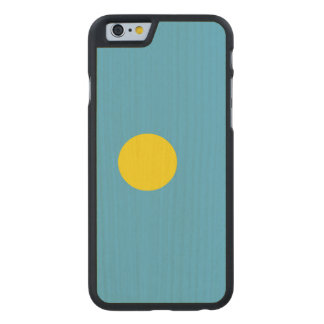 Palau Flag Carved® Maple iPhone 6 Slim Case