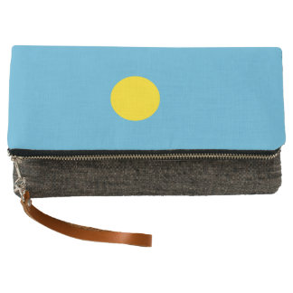 Palau Flag Clutch