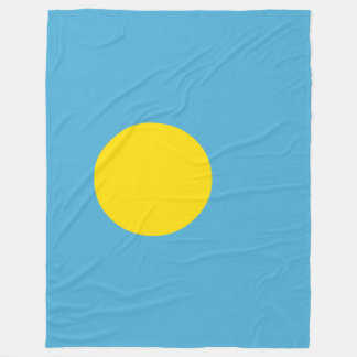 Palau Flag Fleece Blanket