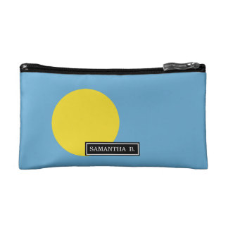 Palau Flag Makeup Bag