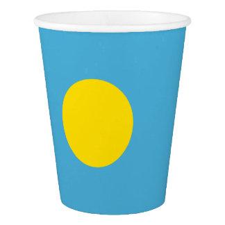 Palau Flag Paper Cup