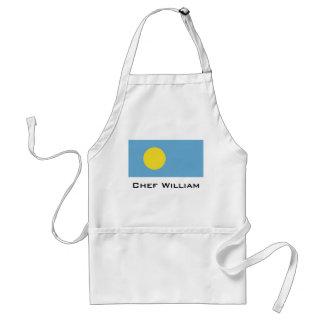 Palau Flag Standard Apron