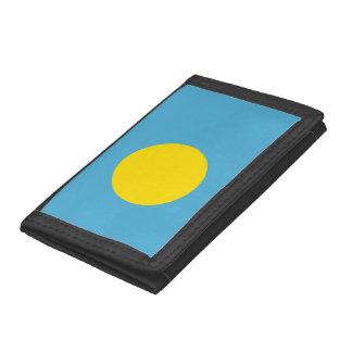 Palau Flag Trifold Wallet