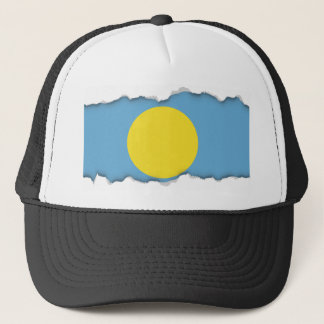 Palau Flag Trucker Hat