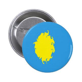 Palau Gnarly Flag Button