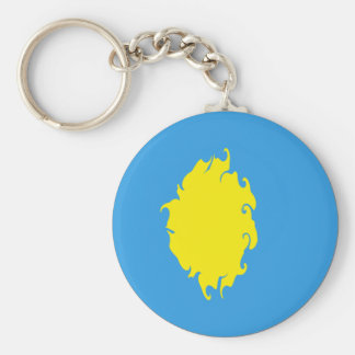 Palau Gnarly Flag Keychain