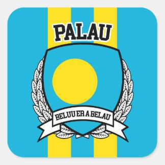Palau Square Sticker