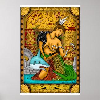 palauan girl poster