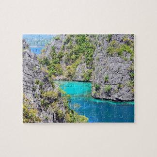 Palawan Limestone Cliffs Jigsaw Puzzle