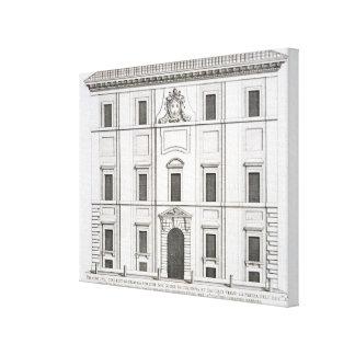 Palazzo del Collegio de Propaganda Fide, from 'Pal Canvas Prints