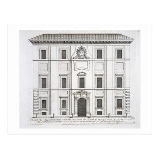 Palazzo del Collegio de Propaganda Fide, from 'Pal Postcard