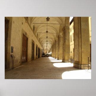 Palazzo del Logge Poster