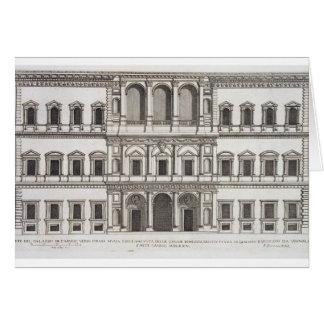 Palazzo Farnese, from 'Palazzi di Roma', part I, p Card