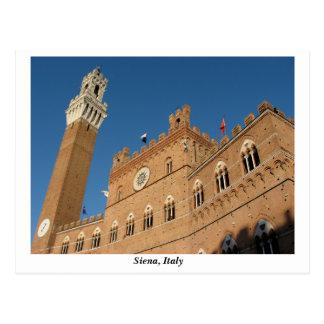 Palazzo Pubblico, Piazza del Campo, Siena Italy Postcard